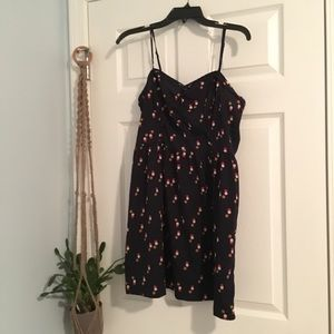 Urban Outfitters Dresses - Urban Outfitters Polka Dot Ruffle Bodice Dress
